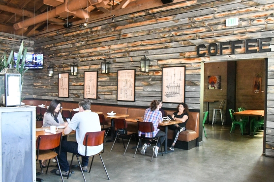 Loma Brewing's coffee shop