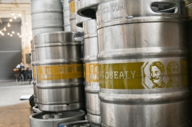 Kegs ready to go!