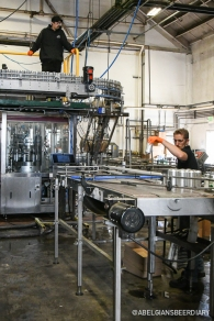 The canning line at Hermitage