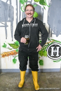 Proud Hermitage Brewmaster Peter Licht!