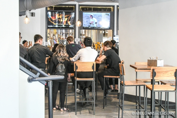 The taproom - with a full bar for the weirdos who don't like beer ;)