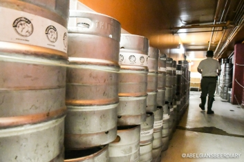 And all of these kegs are for their very own taproom consumption...