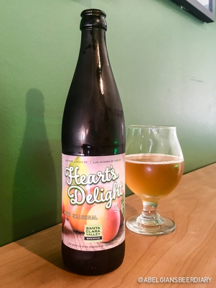 "Heart's Delight: a 2015 barrel-aged ale aged in wine barrels with apricots. Is that a ""Steve beer""?"