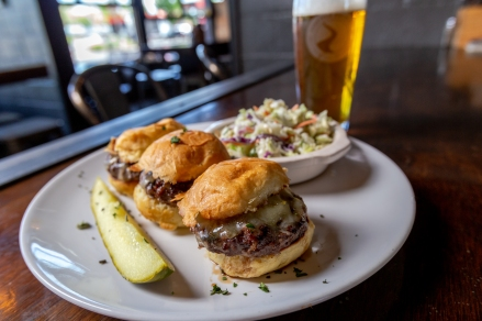Sunriver Brewing Co.'s amazing sliders