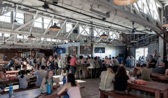 The taproom at Hapa's Brewing -photo courtesy of Hapa's Brewing