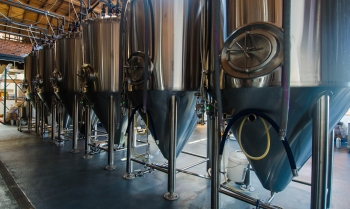 The brewery at Del Cielo Brewing -photo courtesy of Del Cielo Brewing