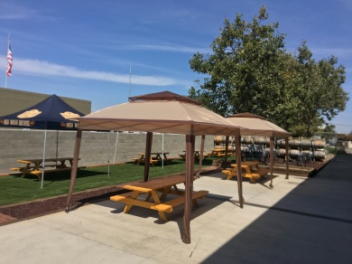 The patio at High Water Brewing -photo courtesy of High Water Brewing