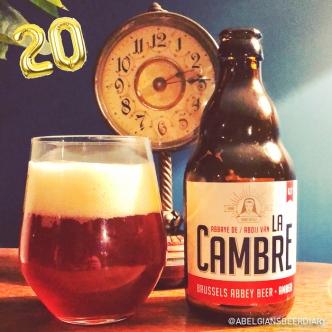 Amber Lager - Brasserie de la Cambre