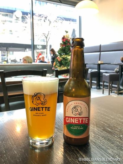 Ginette Natural Triple - Brasserie La Binchoise