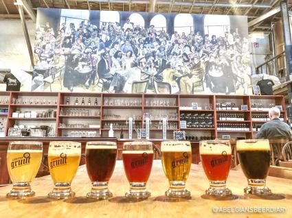 Beer flight - Gentse Gruut Stadsbrouwerij