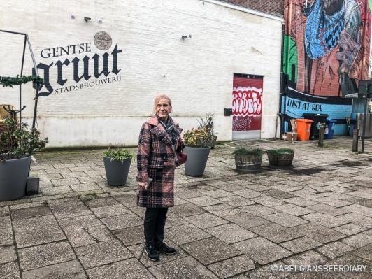 Mom at Gentse Gruut Stadsbrouwerij