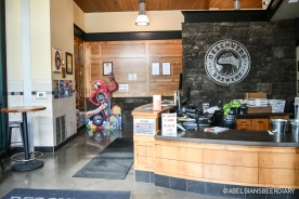 Deschutes Brewery: entrance