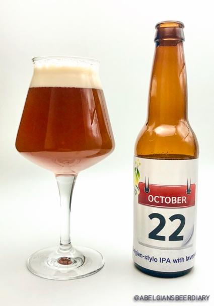 October 22 Belgian-style IPA