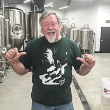 Charlie Gottenkieny - Owner/Brewer at Bruz Beers -photo courtesy of Bruz Beers