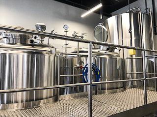 The brewery at Bruz Beers -photo courtesy of Bruz Beers
