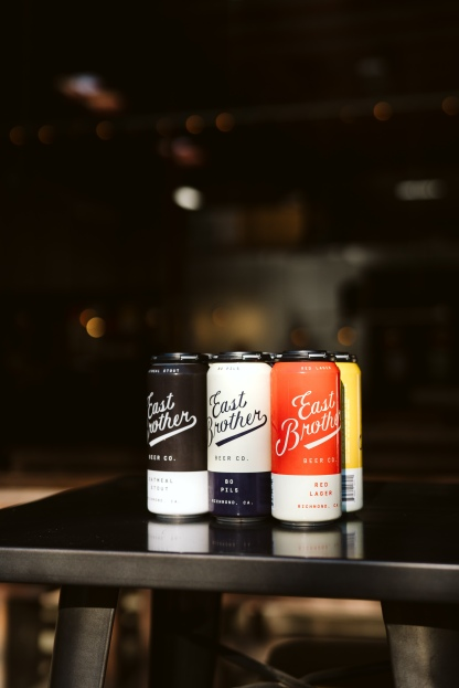 Photo by Clara Rice Photography (@clara.rice.photo) courtesy of East Brother Beer Co.